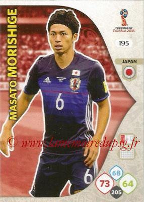 2018 - Panini FIFA World Cup Russia Adrenalyn XL - N° 195 - Masato MORISHIGE (Japon)