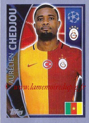 2015-16 - Topps UEFA Champions League Stickers - N° 195 - Aurélien CHEDJOU (Galatasaray AS)