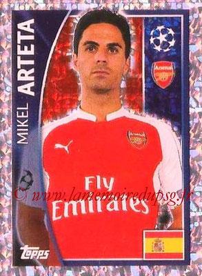 N° 401 - Mikel ARTETA (Janv 2001-02, PSG > 2015-16, Arsenal, ANG)