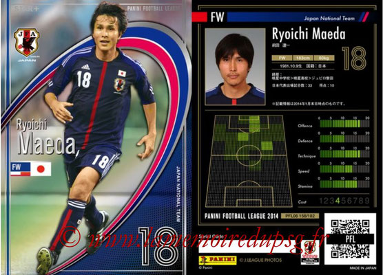 Panini Football League 2014 - PFL06 - N° 158 - Ryoichi MAEDA (Japon) (Star +)