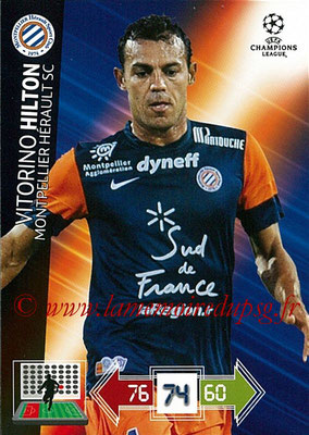 2012-13 - Adrenalyn XL champions League N° 165 - Vitorino HILTON (Montpellier HSC)