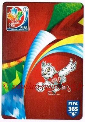 2015-16 - Panini FIFA 365 Stickers - N° 012 - Logo FIFA World Cup Canada 2015