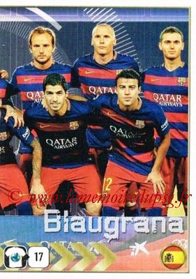 2015-16 - Panini FIFA 365 Stickers - N° 358 - Equipe FC Barcelone 2