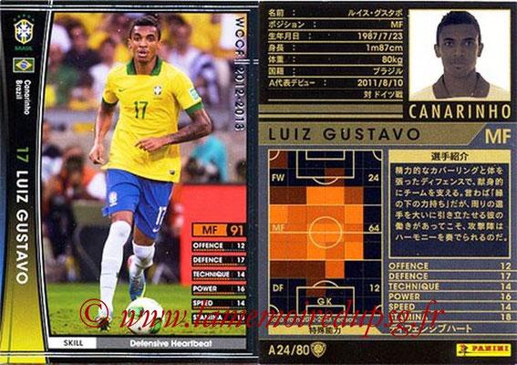 2012-13 - WCCF - N° A24 - Luiz GUSTAVO (Brésil)