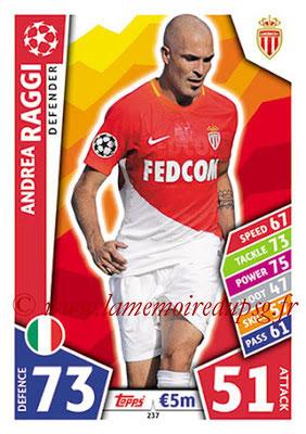 2017-18 - Topps UEFA Champions League Match Attax - N° 237 - Andrea RAGGI (AS Monaco)