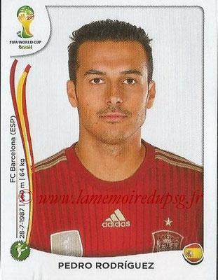 2014 - Panini FIFA World Cup Brazil Stickers - N° 124 - Pedro RODRIGUEZ (Espagne)