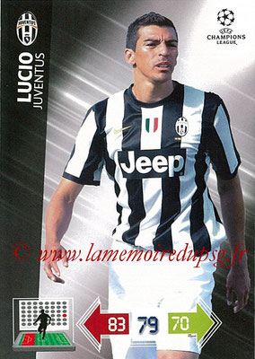 2012-13 - Adrenalyn XL champions League N° 112 - LUCIO (Juventus FC)