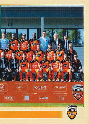 2014-15 - Panini Ligue 1 Stickers - N° 171 - Equipe FC Lorient