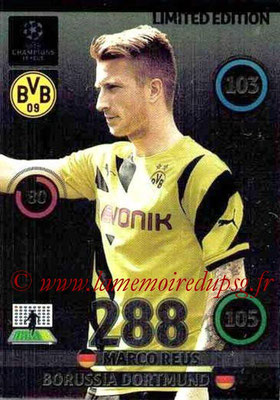 2014-15 - Adrenalyn XL champions League N° LE-MRE - Marco REUS (Borussia Dortmund) (Limited Edition)