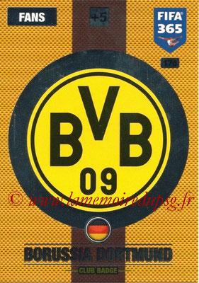 2016-17 - Panini Adrenalyn XL FIFA 365 - N° 176 - Logo Borussia Dortmund