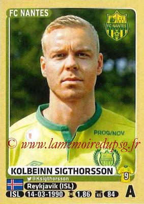 2015-16 - Panini Ligue 1 Stickers - N° 311 - Kolbeinn DIGTHORSSON (FC Nantes)