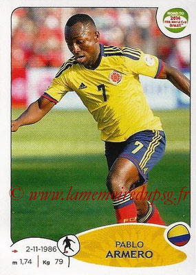 2014 - Panini Road to FIFA World Cup Brazil Stickers - N° 178 - Pablo ARMERO (Colombie)