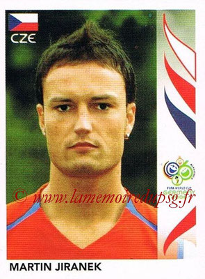 2006 - Panini FIFA World Cup Germany Stickers - N° 364 - Martin JIRANEK (République Tchèque)