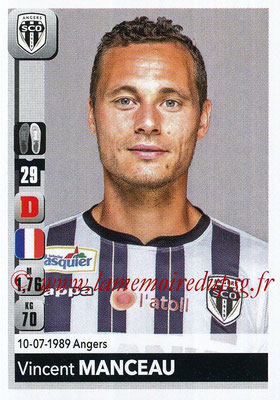 2018-19 - Panini Ligue 1 Stickers - N° 030 - Vincent MANCEAU (Angers)