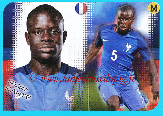 2016-17 - Panini Ligue 1 Stickers - N° P11 - N'Golo KANTE (Poster Equipe de France)