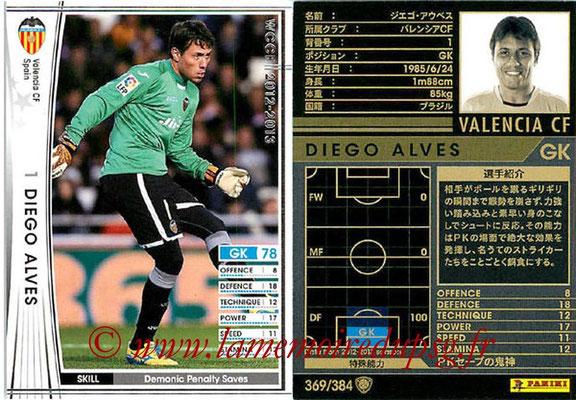 2012-13 - WCCF - N° 369 - Diego ALVES (FC Valence)