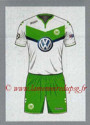 2015-16 - Topps UEFA Champions League Stickers - N° 086 - Maillot Domicile VFL WOLFSBURG