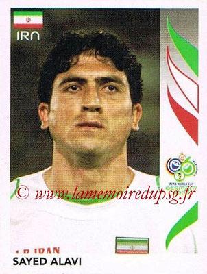 2006 - Panini FIFA World Cup Germany Stickers - N° 266 - Sayed ALAVI (Iran)