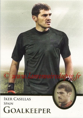 2013 - Futera World Football Unique - N° 122 - Iker CASILLAS (Espagne) (Goalkeeper) (Master)