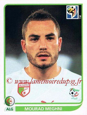 2010 - Panini FIFA World Cup South Africa Stickers - N° 233 - Mourad MEGHNI (Algérie)