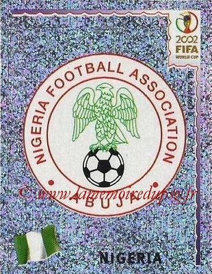 2002 - Panini FIFA World Cup Stickers - N° 404 - Logo Nigéria