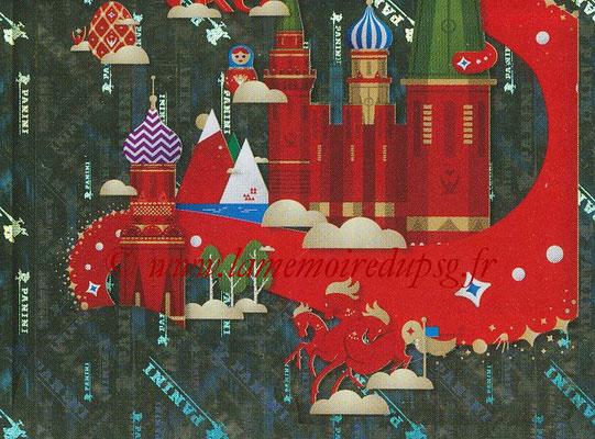 2018 - Panini FIFA World Cup Russia Stickers - N° 004 - Mascotte WC 2018