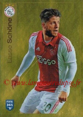 2015-16 - Panini FIFA 365 Stickers - N° 659 - Lasse SCHONE (AFC Ajax)