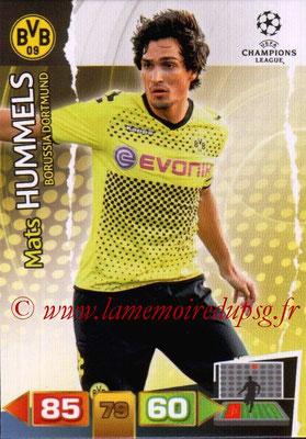 2011-12 - Panini Champions League Cards - N° 070 - Mats HUMMEL (Borussia Dortmund)