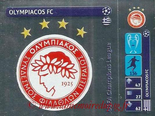 2014-15 - Panini Champions League N° 007 - Logo Olympiacos FC