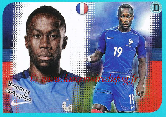 2016-17 - Panini Ligue 1 Stickers - N° P07 - Bacary SAGNA (Poster Equipe de France)