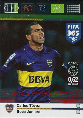2015-16 - Panini Adrenalyn XL FIFA 365 - N° 172 - Carlos TEVEZ (Boca Juniors) (Goal Machine)