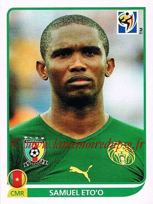 2010 - Panini FIFA World Cup South Africa Stickers - N° 408 - Samuel ETO'O (Cameroun)