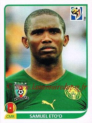 2010 - Panini FIFA World Cup South Africa Stickers - N° 408 - Samuel ETO'O (Cameroun)