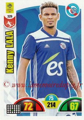 2018-19 - Panini Adrenalyn XL Ligue 1 - N° 329 - Kenny LALA (Strasbourg)