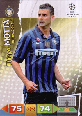 2011-12 - Panini Champions League Cards - N° 113 - Thiago MOTTA (Inter Milan)