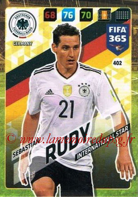 2017-18 - Panini FIFA 365 Cards - N° 402 - Sebastian RUDY (Allemagne) (International Star)