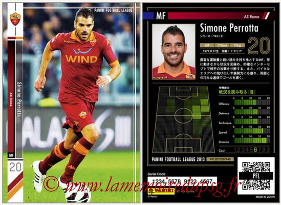 Panini Football League 2013 - PFL02 - N° 029 - Simone Perrotta ( AS Roma )
