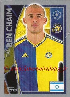 2015-16 - Topps UEFA Champions League Stickers - N° 504 - Tal BEN CHAIM (Maccabi Tel-Aviv FC)