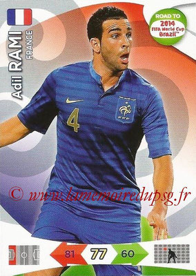 2014 - Panini Road to FIFA World Cup Brazil Adrenalyn XL - N° 091 - Adil RAMI (France)