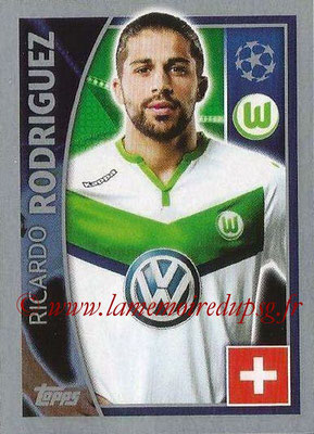 2015-16 - Topps UEFA Champions League Stickers - N° 139 - Ricardo RODRIGUEZ (VFL Wolfsburg)