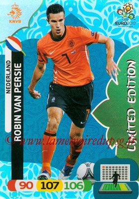 Panini Euro 2012 Cards Adrenalyn XL - N° LE32 - Robin VAN PERSIE (Pays-Bas) (Limited Edition)