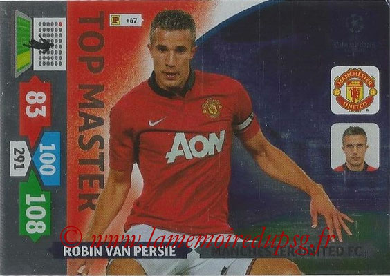 2013-14 - Adrenalyn XL champions League N° 358 - Robin VAN PERSIE (Manchester United FC) (Top Master)