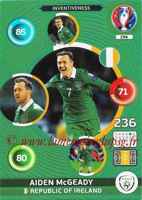 Panini Euro 2016 Cards - N° 294 - Aiden McGEADY (République d Irlande) (Inventiveness)