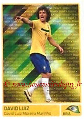 N° 303 - David LUIZ (2011, Brésil > 2014-??, PSG) (In action)