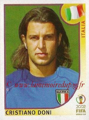 2002 - Panini FIFA World Cup Stickers - N° 469 - Cristiano DONI (Italie)