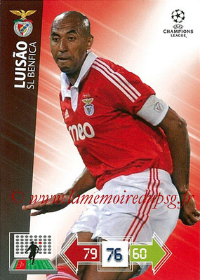 2012-13 - Adrenalyn XL champions League N° 059 - LUISAO (SL Benfica)