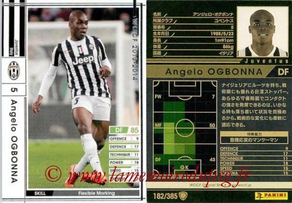 2013-14 - WCCF - N° 182 - Angelo OGBONNA (Juventus FC)