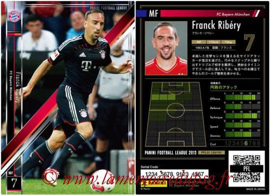 Panini Football League 2013 - PFL01 - N° 126 - Franck Ribery ( FC Bayern Munchen )