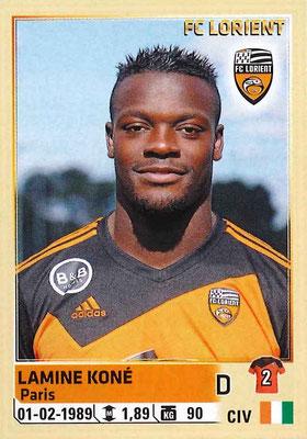 2014-15 - Panini Ligue 1 Stickers - N° 176 - Lamine KONE (FC Lorient)