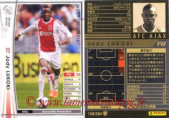 2012-13 - WCCF - N° 158 - Jody LUKOKI (AFC Ajax)